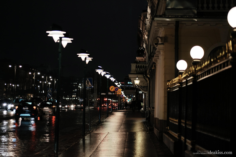 Night, helsinki