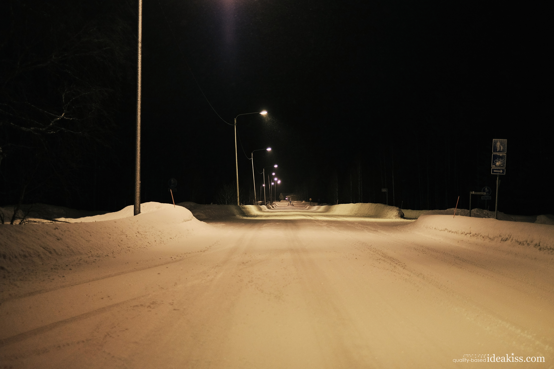 Midnight, rovaniemi