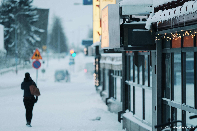 Outside rovaniemi